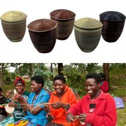 Paniers Icyibo fabriqués à...