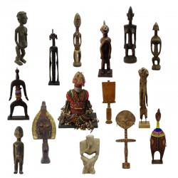 Statuettes anciennes, de...