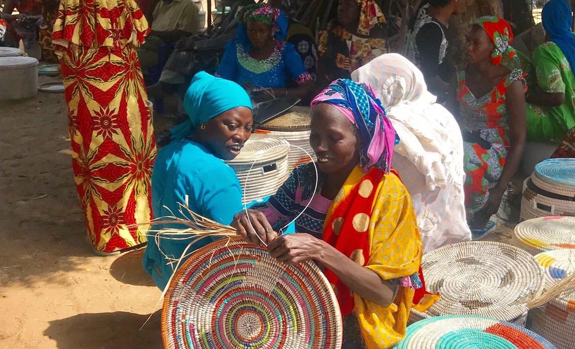 Artisanes de la Communauté des femmes de Ngaye (Sénégal)